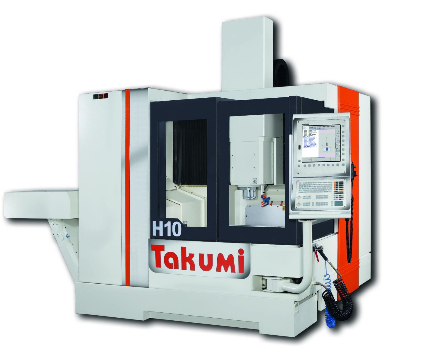 Takumi H10: 3-axis Machining Center with Heidenhain control